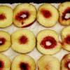Prăjitură cu budincă si piersici