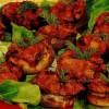 Ciuperci umplute cu brânză şi verdeaţă