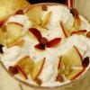 Cremă de biscuiţi cu mere