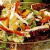 Salată cu două feluri de varză si cu ardei