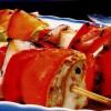 Frigărui la cuptor din peşte marinat in vin