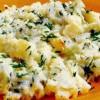 Musaca de castraveti şi piure de cartofi
