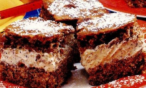 Prăjitură cu cremă de cafea şi rom