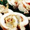Rulouri de pui cu legume si afumătură