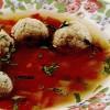Ciorbă de perişoare din peşte (cod)