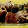 Rasol de vită cu sos de mărar