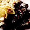 Sardine cu piure şi sos roşu