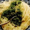 Spaghete cu sos verde