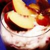 Spumă de frişcă cu fructe