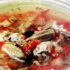Ciorbă de roşii cu bame