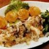 Salata de salau cu cartofi