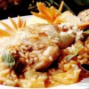 Pulpe de pui cu ananas
