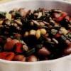 Salata de fasole rosie boabe cu porumb