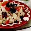 Salată de pui cu caşcaval si grepfrut