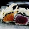 Sashimi din somon si ton