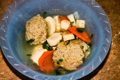Galuste cu sunca pentru supa