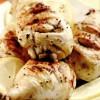 Ciocănele de pui glasate cu muştar şi lămâie