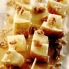 Frigărui de pecorino şi pere, cu miere şi nuci