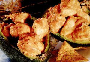 Avocado picant cu tortillas