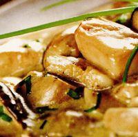 Ciuperci cu sos de smantana