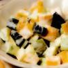 Salata de dovlecei în trei culori