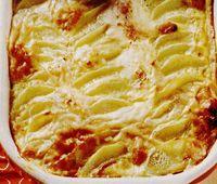 Cartofi gratinaţi în stil franţuzesc