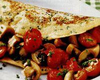 Clatite umplute cu legume