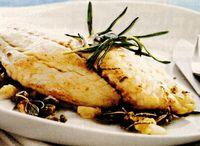 File de peşte cu rozmarin