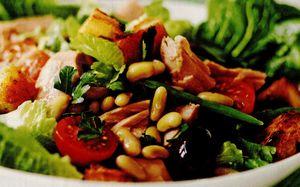 Salata de paste cu chorizo