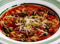Supa Minestrone cu parmezan