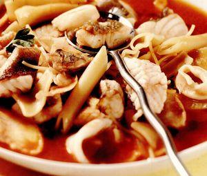 Supă mediteraneană de peşte