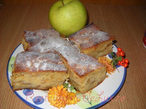 Reteta zilei: Chec cu mere