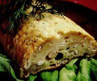 Pâine cu dovlecei şi fasole