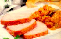 Placinta cu carne  (Leberkasse)