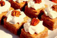 Prăjitură cu dovleac si nuci