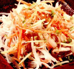Salată de pui şi calamari