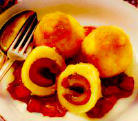Papanasi cu prune