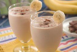 Smoothie de banană cu caramel