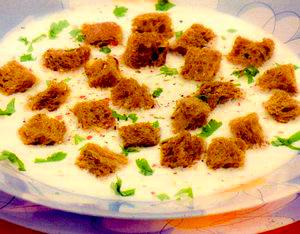 Supă de usturoi