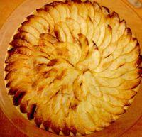 Tarta de mere glazurata