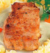 Cotlet de porc pane cu roquefort