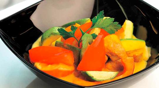 Curry cu carne de porc