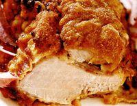 Friptură crocantă în crustă pane