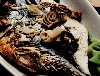 Macrou cu sos de muştar