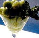 Sorbet de pepene verde şi gin