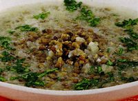 Supa greceasca de linte