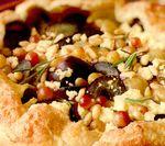 Deserturi delicioase: Tartă cu struguri