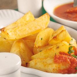 Cartofi ţărăneşti cu sos picant