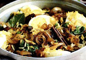 Caserola cu orez si legume