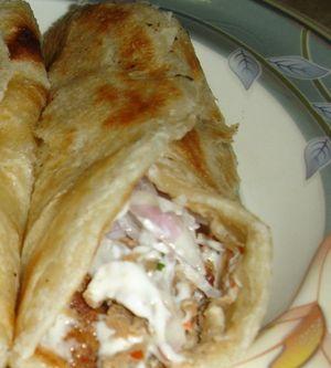 Kebab de casa